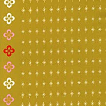 FLORAL BORDER Fabric CS026 - Mustang Collection by Melody Miller for Cotton + Steel - 100% Cotton - HALF YARD / 18
