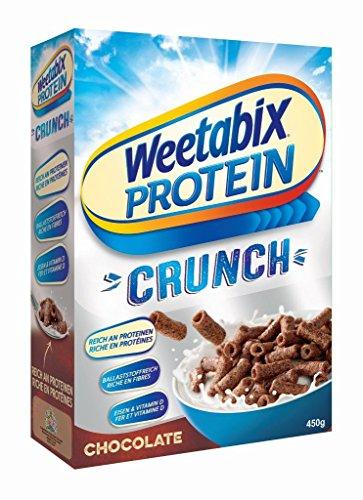 Weetabix Protein Crunch Schokolade, 4er Pack (4 x 450 g)