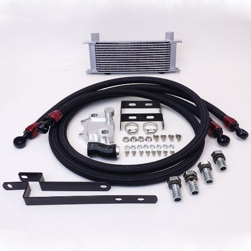 Volkswagen GTI (MK5 MK6) 2.0T Bolt-On Upgrade 14 Row Oil Cooler Kit