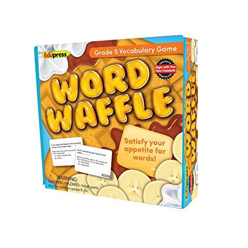 Edupress Word Waffle Game Grade 5 (EP62096), Multi