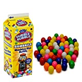 PlayO Gumballs for Gumball Machine - Refill Bubble Gum 20-Ounce - Carton of Double Bubble Assorted Gum Ball Candies