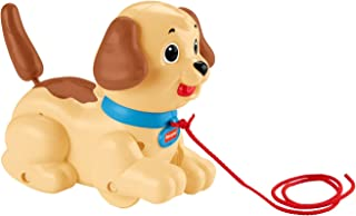 FIsher-Price Lil' Snoopy, dog-themed pull toy for walking infants and toddlers