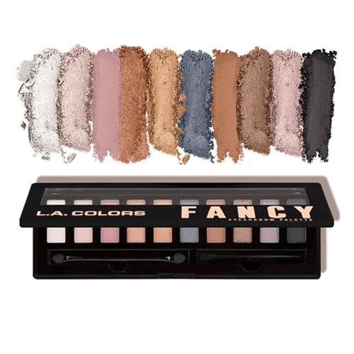 ベーコン上ブランド(3 Pack) L.A. COLORS Personality Eyeshadow Palette - Fancy (並行輸入品)