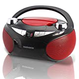 Magnavox MD6949 CD Boombox with AM/FM Radio & Bluetooth Wireless Technology -...