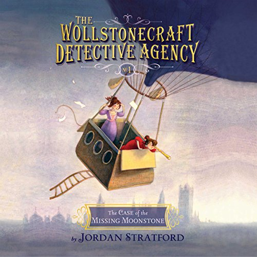 Case of the Missing Moonstone audiobook cover art