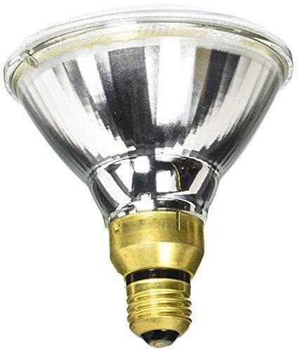 GE Lighting 66286 Energy-Efficient Halogen 90-Watt (120-watt replacement) 1900-Lumen PAR38 Floodlight Bulb with Medium Base, 2-Pack