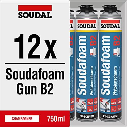 SOUDAL 12x Soudal Soudafoam Gun B2 Bild