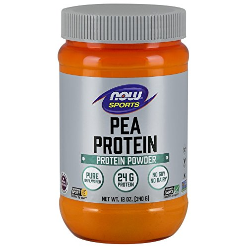 NOW Sports Pea Protein Powder,12-Ounce