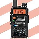 Baofeng x Radioddity UV-5RX3 Tri-band Radio VHF, 1.25M, UHF Amateur Handheld Ham Two Way Radio Walkie Talkie with Earpiece and Programming Cable