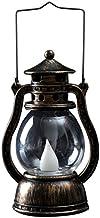 Uonlytech Vintage LED Lantern Lamp Retro Kerosene Lantern Hanging Oil Lamp Antique Night Light for Home Bar Restaurant Hal...