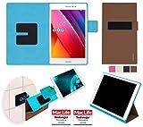 reboon Hülle für Asus ZenPad S 8.0 Tasche Cover Hülle Bumper | in Braun | Testsieger
