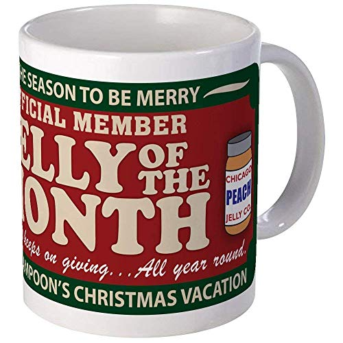 CHRISTMAS VACATION JELLY OF THE MONTH CLUB Mug - Ceramic 11oz Coffee/Tea Cup Gift Stocking Stuffer
