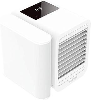 AUUUA Mini aire acondicionado USB Mini portátil Aire Acondicionador Refrigerador Humidificador Purificador Ventilador