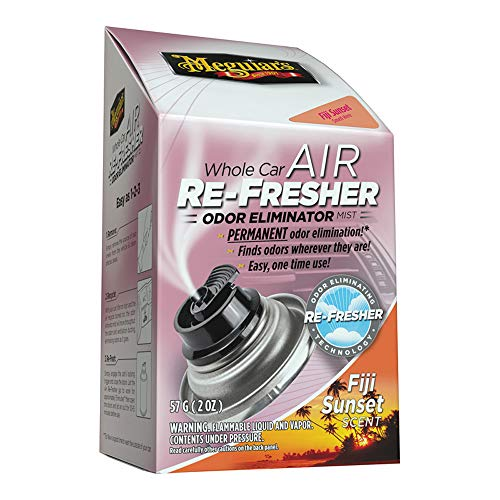 Meguiar's G201502EU Whole Car Air Re-Fresher Odor Eliminator Fiji Sunset Lufterfrischer, 59ml