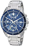 Casio Men's Edifice Quartz Watch with Stainless Steel Strap, Silver, 21.7 (Model: EFS-S510D-2AVUEF)