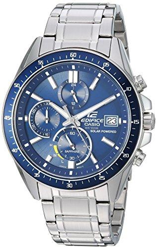 Casio Men's 'Edifice' Quartz Stainless Steel Casual Watch, Color:Silver-Toned (Model: EFS-S510D-2AVCR)
