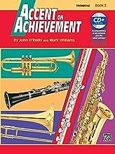 Accent On Achievement Book 2 Trombone Book/CD
