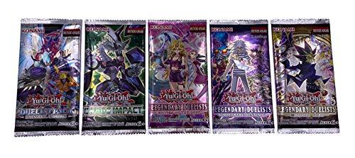 Yu-Gi-OH! Booster Pack Set - 4 zufällige Booster Packs - Yu-Gi-Oh! Karten - Deutsch - mit GECO Versandschutz
