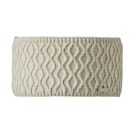Stöhr Knitwear Trina - Damenstirnband mit Wellenoptik