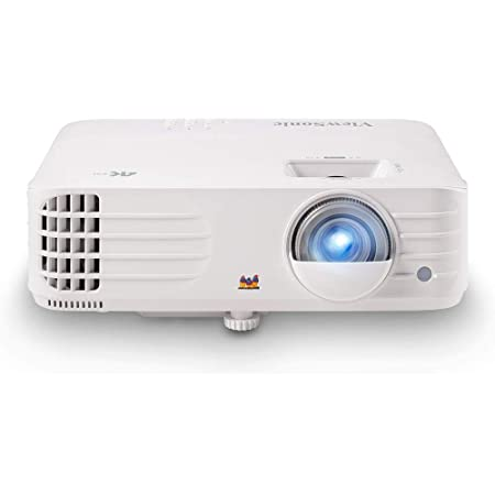 """ViewSonic True 4K UHD 3200 Lumens 240Hz 4.2ms Home Theater Projector with HDR, Auto Keystone, Dual HDMI, Sports and Netflix Streaming with Dongle on up to 300"""" Screen (PX701-4K)"""