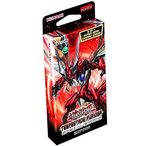Box Yu-Gi-Oh! Tempestade Furiosa Edição Especial Boosters e Cards SUIKA (ㆁᴗㆁ✿)
