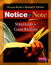 notice and note fiction