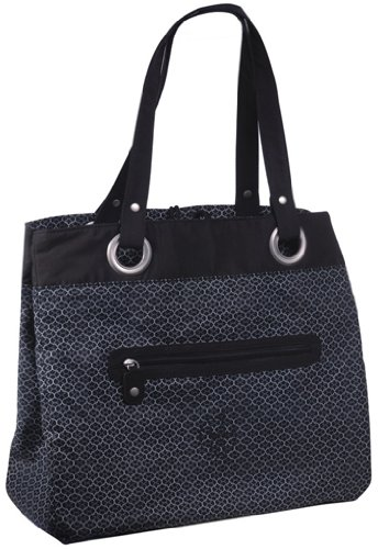 Lässig Wickeltasche Gold Label Tote Bag, black