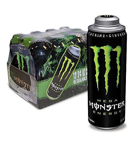 MEGA MONSTER ENERGY, 24 fl. oz. (Pa…