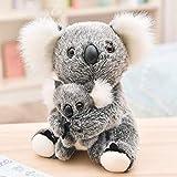 JTL Lindo Peluche de Peluche de Peluche Juguetes Koala Bear 11'(mamá y bebé)