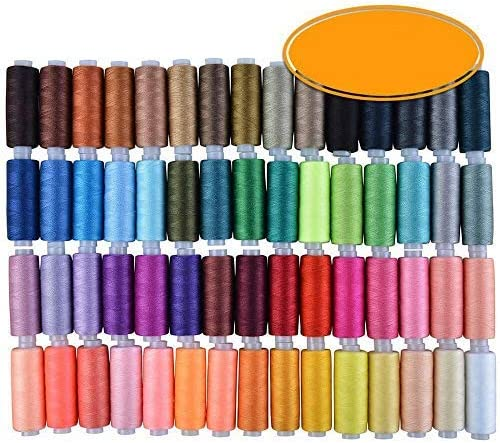 DAWEIF 60 Mesa Mall Color 250 Yard OFFicial site Sewing Stro Thread Colors Set Polyester