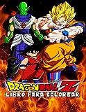 dragon ball z libro para colorear: 50 páginas para colorear de alta calidad para niños, adolescentes...