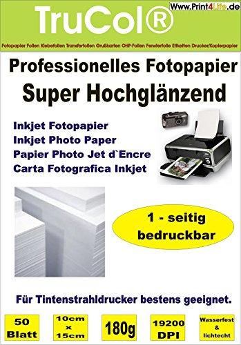 1000 fogli 10x15 180g /m² schierò Super High Glossy Photo Paper Tacchi a getto d'inchiostro a getto d'inchiostro Glossy Greeting Cards