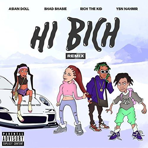 Bhad Bhabie feat. YBN Nahmir, Rich The Kid & Asian Doll