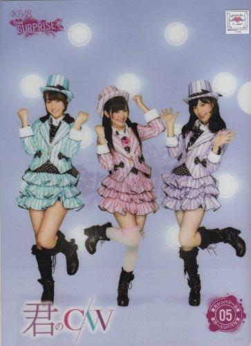 AKB48『君のC/W』チームサプライズ 限定 クリアファイル