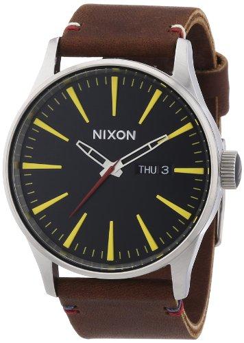 Nixon Sentry Leather -Spring 2017- Black/Brown