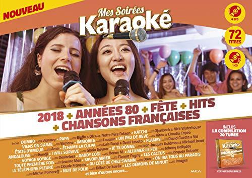 Mes Soirées Karaoké 6 DVD 2018