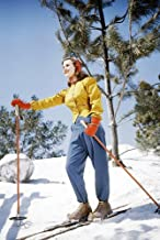 Deanna Durbin Beautiful Image On Ski's Skiing 11x17 Mini Poster