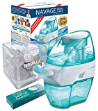 Navage Nasal Care Spa Bundle: Navage Nose Cleaner with 20 SaltPods Inside, SaltPod Cube, and Eucalyptus 2-Pack Sampler. 127.90 if Purchased Separately, You Save 22.95. for Improved Nasal Hygiene.