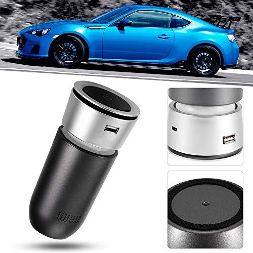 Auto-luchtreiniger, apparaatgeur PM2.5-filterapparaat Anion Oxygen Bar Luchtverfrisser Draagbare luchtreinigers voor stof, rokers, pollen, huidschilfers van huisdieren, kookgeur.