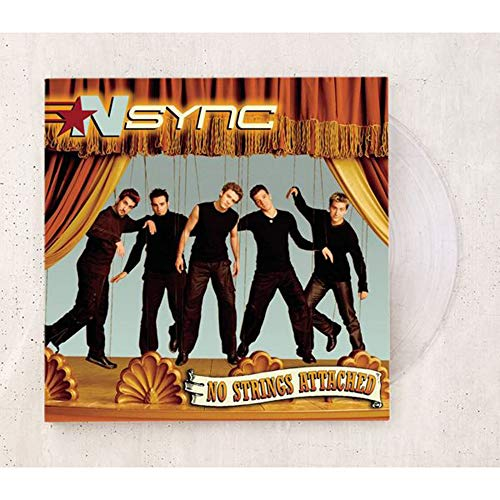 NSYNC - No Strings Attached Exclusive Limited Edition Clear Vinyl LP