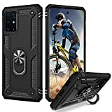 BENTOBEN Samsung Galaxy S20 Plus Case, Galaxy S20 Plus 5G Case [ Military Grade ], Heavy Duty Rugged Protective Kickstand Case with Rotatable Ring for Samsung Galaxy S20 Plus/S20 Plus 5G 6.7', Black