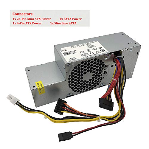 2V0G6 H235PD-02 Dell Optiplex 380 Small Form Factor 235 Watt Power Supply