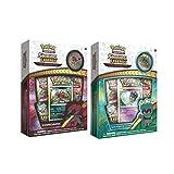 Pokemon Shining Legends Zoroark & Marshadow 2 Box Bundle- Marshadow and Zoroark 2 Box Bundle- Both Pin Collection Boxes | with Foil Card