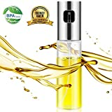Oil Sprayer- Olive Oil Sprayer for Cooking,Spray Bottle for Oil Versatile Glass Spray Olive Oil Bottle Vinegar Bottle Glass Bottle for Cooking,Baking,Roasting,Grilling