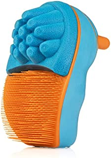 Scrub Bugs for Kids - Fingernail Brush Hand Scubbers - Surgeon Inspired (Sky/Mango (1))