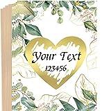 10 tarjetas para rascar con sobres, tarjetas de felicitación, anuncio de embarazo, bodas, invitaciones, regalos personalizados, San Valentín, cumpleaños y aniversarios.