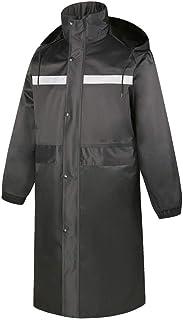 Snow Rainwear Raincoat Men's Thick Double-layer Waterproof Long Reflective Raincoat Suitable for Cycling Hiking Multifunct...