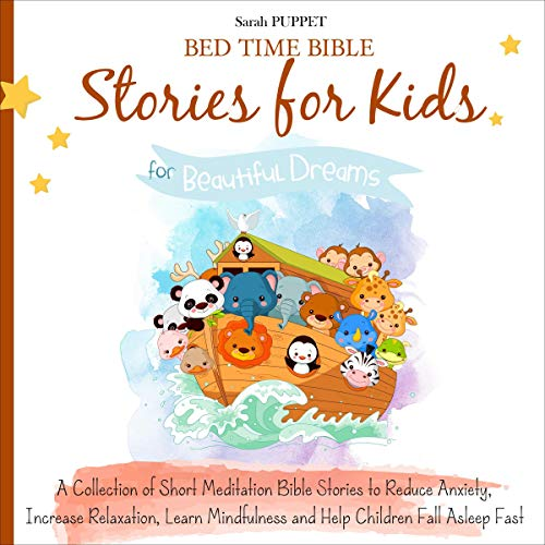 Bed Time Bible Stories for Kids cover art