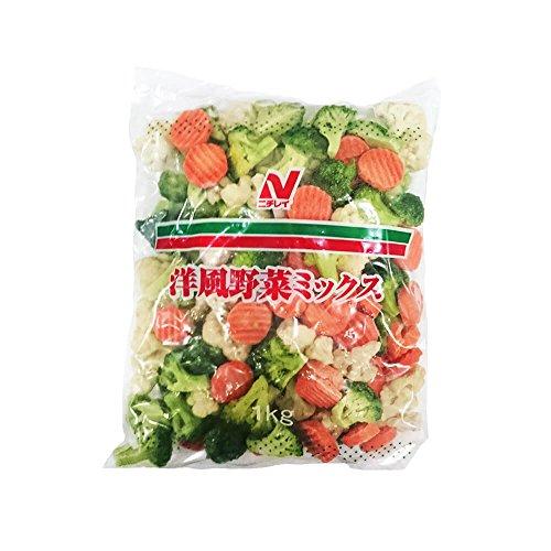 【冷凍】 ニチレイ 洋風 野菜ミックス 1kg 業務用 冷凍野菜 野菜 ミックス