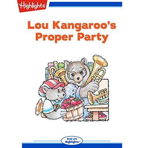 Lou Kangaroo's Proper Party copertina